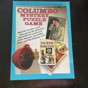 Columbo Jigsaw Puzzle 1989 550 Piece Complete